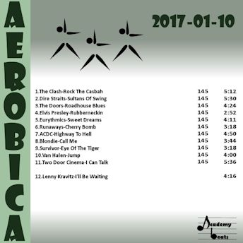 Aerobica#2017-01-10 Rock From 80s
