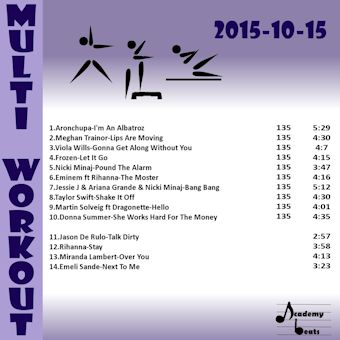 MultiWorkout#2015-10-15